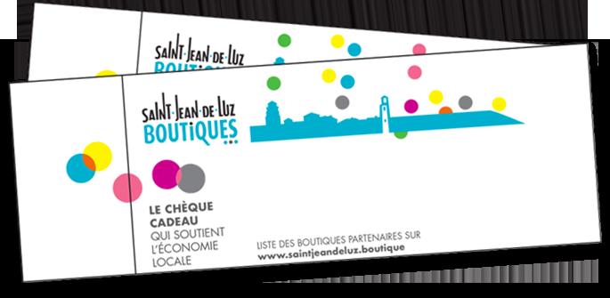 Chèques-cadeaux commerces de Saint-Jean-de-Luz