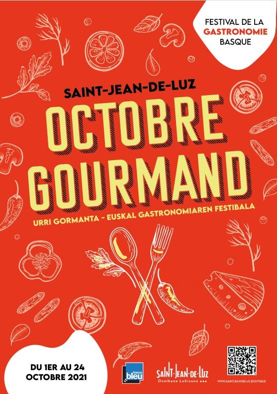 Affiche Octobre Gourmand